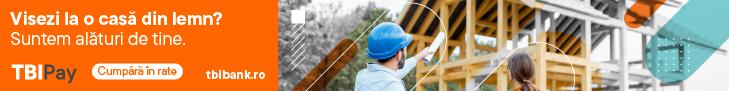 Visezi la o casa din lemn? Ai nevoie de un credit? Te ajuta TBI, in parteneriat cu Harforest.